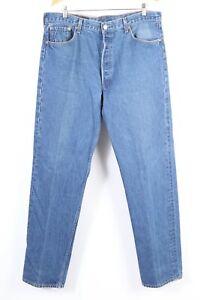 """Vintage LEVI'S 501 XX Button Fly Denim Jeans USA Mens Size 40x40 Actual """"38x36"""""""