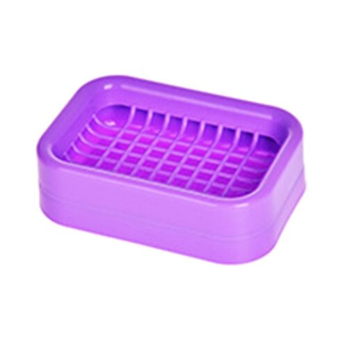 1Pc Plastic Soap Dish Storage Boxs Double Layer Container Case Home FjWBv ihj