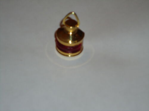 Minature Ships Port Side Red Lamp For dolls house Hand Made From Brass //Lanturn
