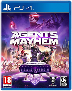Agents-of-Mayhem-Day-One-Edition-PS4-Sony-PlayStation-4-2017-Brand-New