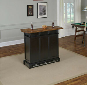 Bar For Home Entertainment Foot Rest Rail Man Cave Game Room ...