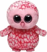 Ty Beanie Babies Boo's Pinky Owl 6 Stuffed Collectible Plush Toy