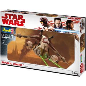 Revell Star Wars Republic Gunship (Level 3) (Scale 1:172) Model Kit NEW