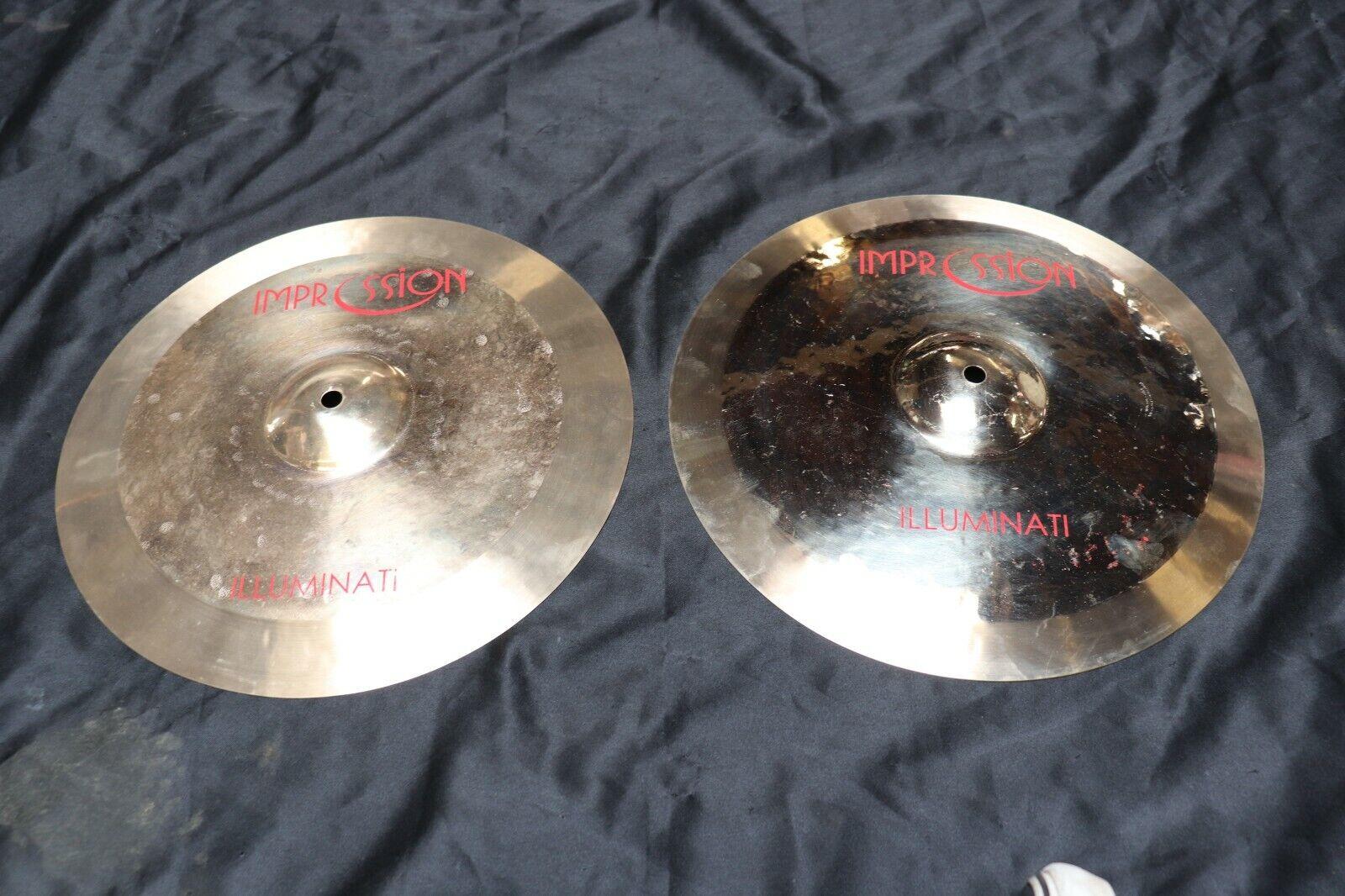 Impression 14  Illuminati Hi Hat Cymbal Pair