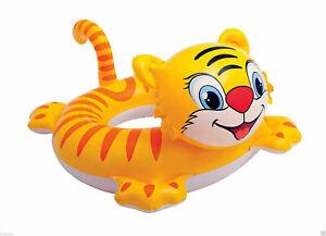 Big-Animal-Kids-Swim-Ring-Float-Tiger-Dino-Donkey-pool-beach-swimring-kid-safety