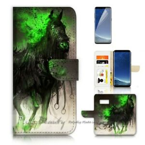 For-Samsung-S8-Plus-S8-Case-Cover-P21140-Dark-Knight-Horse