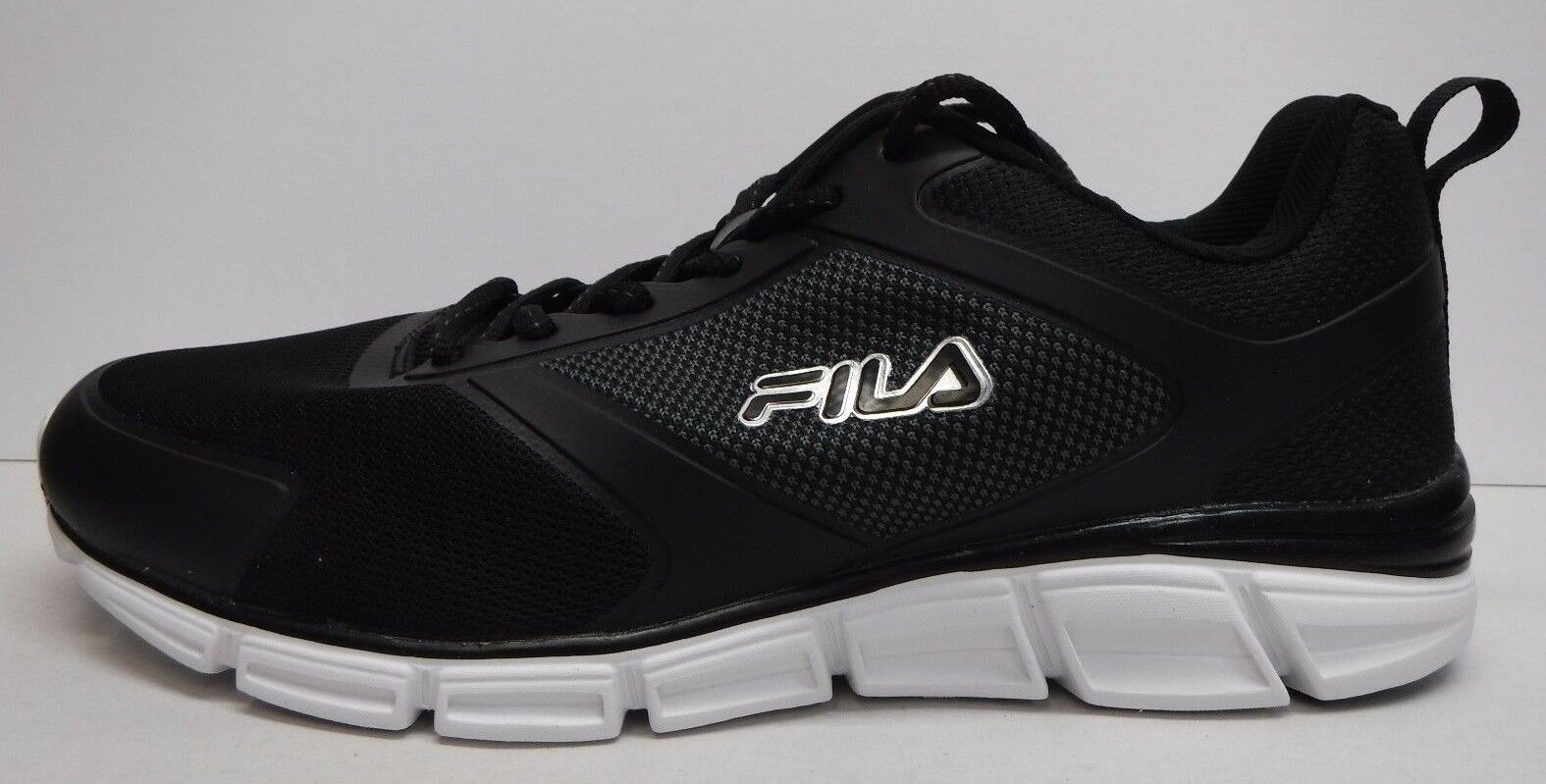 FILA Sze 11.5 Memory Training Steelsprint Negro Training Memory Athletic SNEAKERS e46494