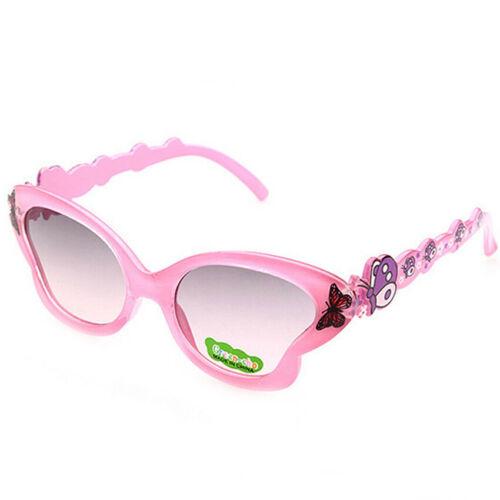 Toddlers Children Kids Sunglasses ANTI-UV Butterfly Shades Girls Eyeglasses New