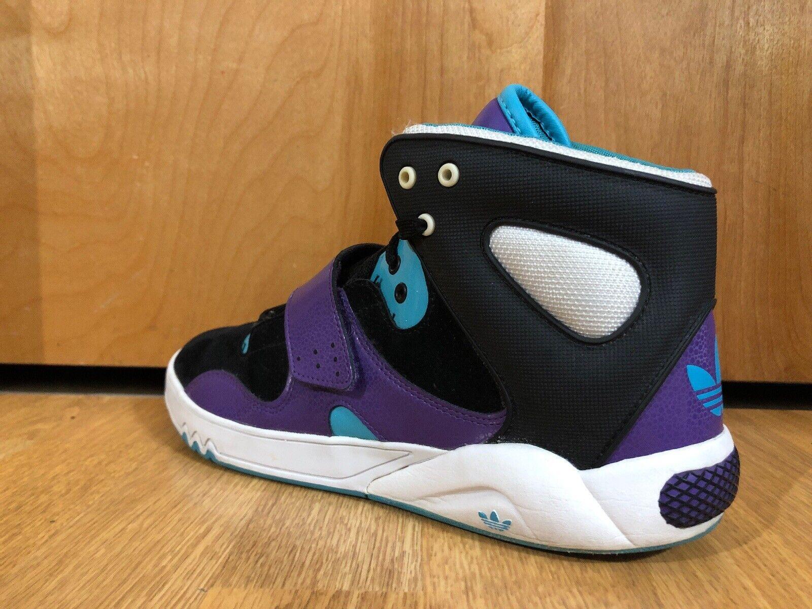 Womens Vintage Adidas Roundhouse Basketball Shoes… - image 7