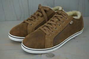 b9305b68d07 Details about UGG ROXFORD BOMBER CHESTNUT TWINFACE MENS SNEAKERS US 10.5 NIB
