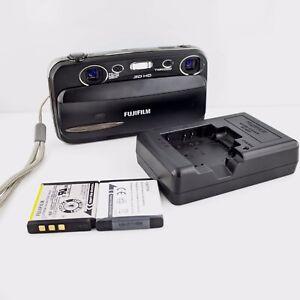 Fujifilm-FinePix-REAL-3D-W3-10-0MP-Digital-Camera-Black