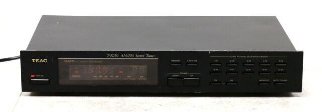 Teac T-X150 Quartz PLL Digital Synthesizer AM FM Stereo Tuner Radio