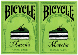 TWO-Decks-of-Bicycle-Matcha-Playing-Cards-by-Bocopo-USPCC-Limited-Edition