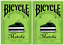 TWO-Decks-of-Bicycle-Matcha-Playing-Cards-by-Bocopo-USPCC-Limited-Edition thumbnail 1