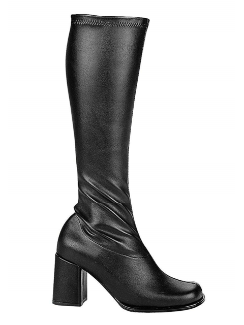 Ellie Shoes Egogob-7 Black Patent Gogo