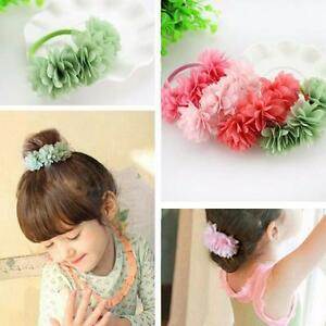 Baby-Hair-Accessories-Barrettes-Rubber-Bands-Chiffon-Flowers-Headwear