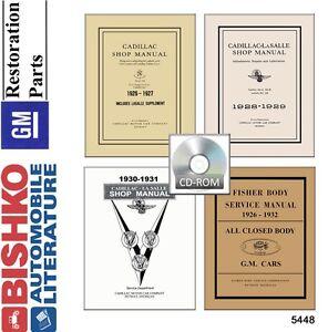 1926-1931-1927-1928-1929-1930-Cadillac-Shop-Service-Repair-Manual-CD-OEM-Guide