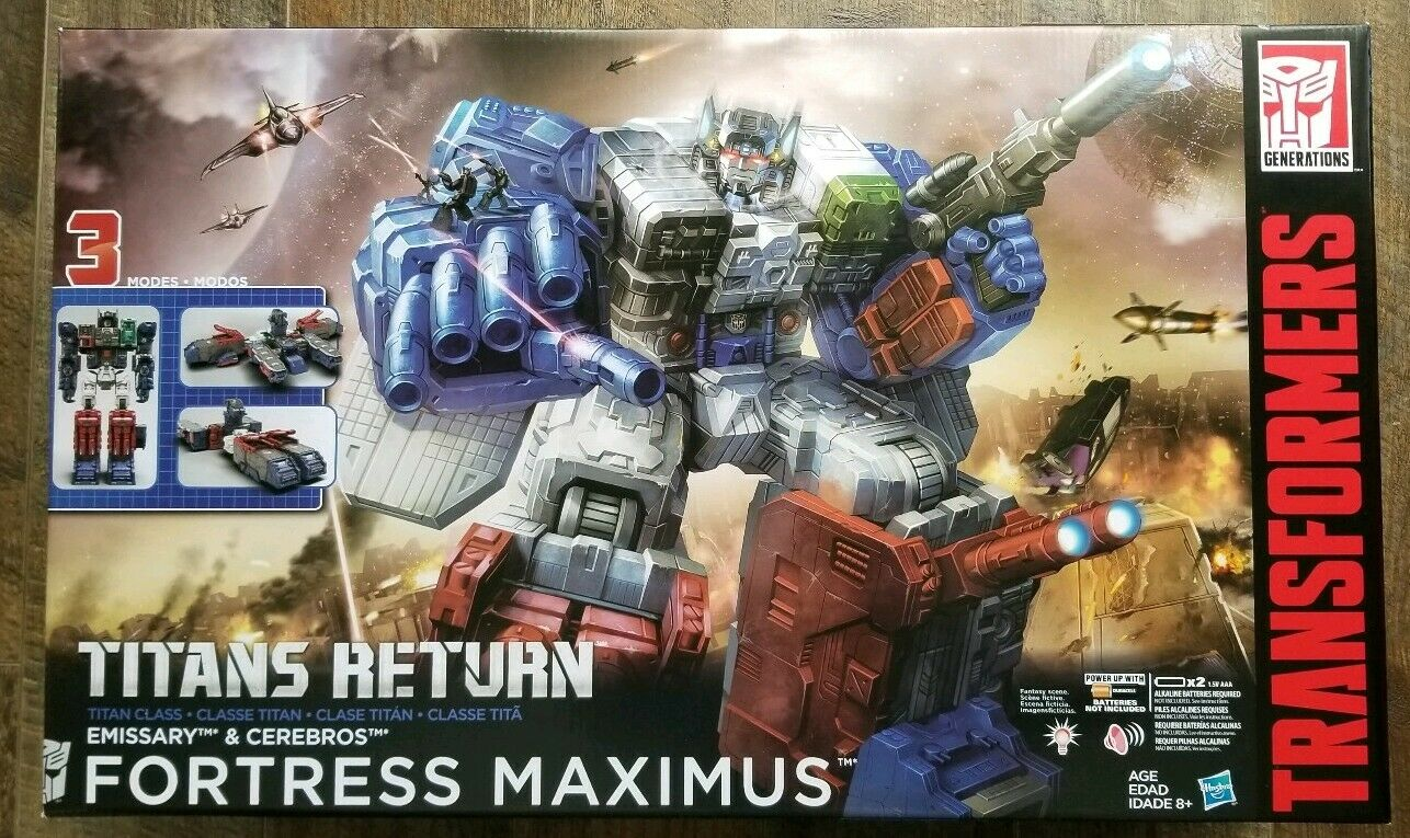 BRAND NEW and FACTORY SEALED HASBRO TITANS RETURN TITAN CLASS FORTRESS MAXIMUS