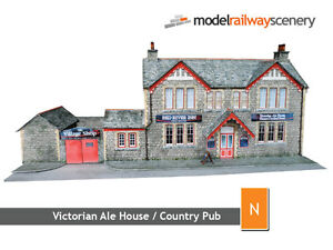 COUNTRY-PUB-VICTORIAN-ALE-HOUSE-CARD-KIT-N-GAUGE-N-SCALE-FOR-GRAHAM-FARISH