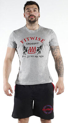 Fitwise Men/'s Short Sleeve T-Shirts Summer Top Training Gym Casual Wear Yellow