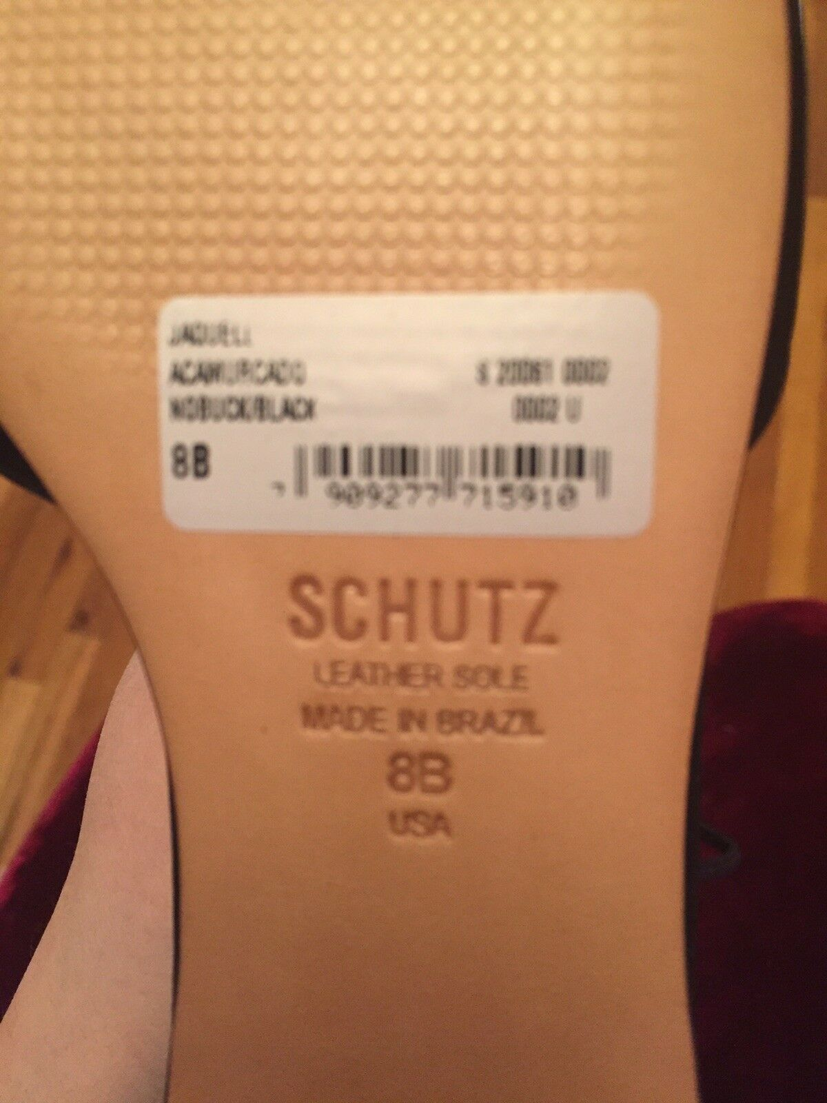 Schutz Schutz Schutz Point-toe Flat Shoes size 38 08dded