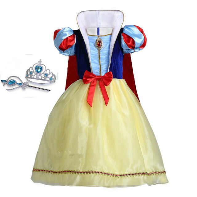 Beautiful yellow dress Toddler Girl Snow White Inspired Costume Dress Size 3T