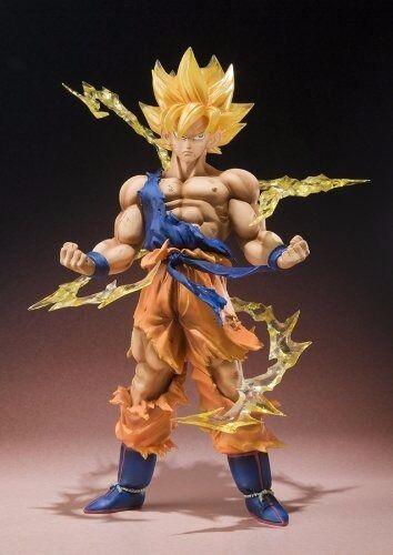 Figuarts zero Dragon Ball Z Super Saiyan Son Gokou PVC Figur Bandai Aus Japan