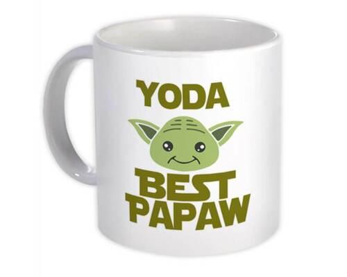 Yoda Best Papaw Ever Gift Mug You Are Grandfather Grandpa Family Christmas