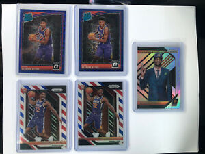 2018-19-Panini-Prizm-DeAndre-Ayton-Lot-Of-9-red-White-And-Blue-Silver-Lottery
