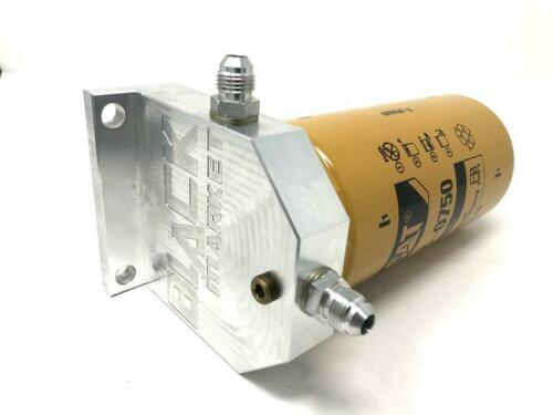 07-20 Ram Cummins 6.7 Cat Fuel Filter Adapter Kit 2 Micron