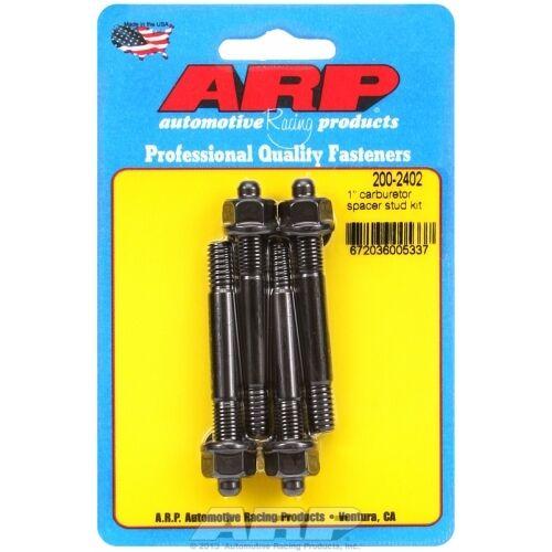 """ARP Bolts 200-2402 1/"""" carburetor spacer stud kit 2.700/"""" OAL"""