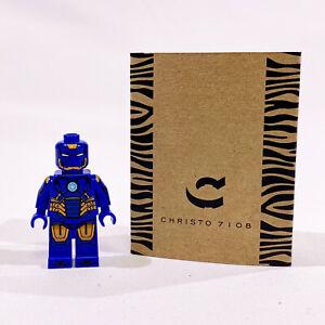 Christo-Custom-Pad-Printed-Iron-Man-Mark-27-Disco-Suit-LEGO-Minifigure-LIMITED