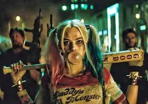Suicide Squad The Joker Harley Quinn Batman Art Print Photo Poster A3 A4
