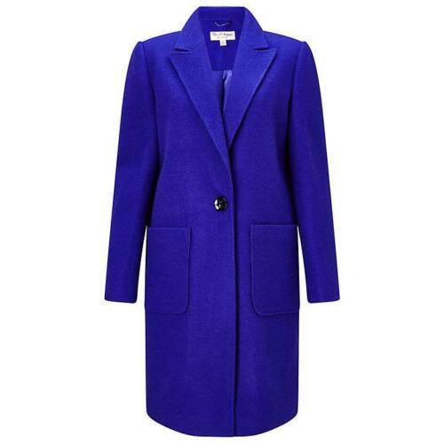 Miss Coat Selfridge Midi New Size Tag Brand With Blue 10 rtrwqd7a
