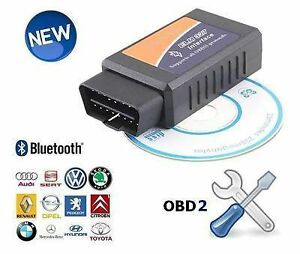 bluetooth usb diagnose interface obd2 software elm 327 ebay. Black Bedroom Furniture Sets. Home Design Ideas