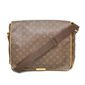 ba313be1872c Image is loading Authentic-Louis-Vuitton-Monogram-Shoulder-Crossbody-Bag- Messenger-