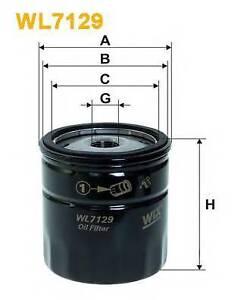Wix-Filters-WL7129-Filtro-de-aceite-RC516874P-OE-Quality