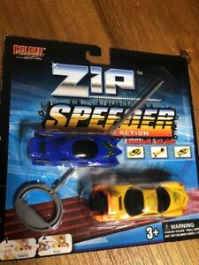 Zip Speeder Race Car Pull And Go Action Changeable Car Body Kids