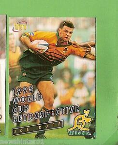 1996 RUGBY UNION CARD #97 JOE ROFF, WALLABIES