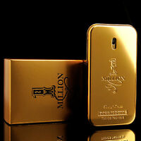 Paco Rabanne Perfume 1 One Million Eau De Toilette Mens Cologne Parfum 1.7oz 50m