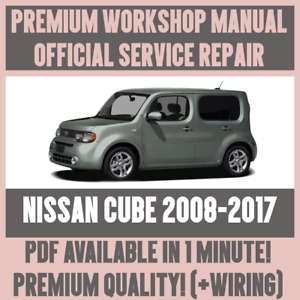 2010 nissan cube service manual
