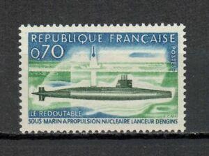 s25036-FRANCE-1969-MNH-Atomic-submarine-1v