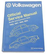 Volkswagen VW Beetle Karmann Ghia 1966-1969 Service Repair Manual Bentley