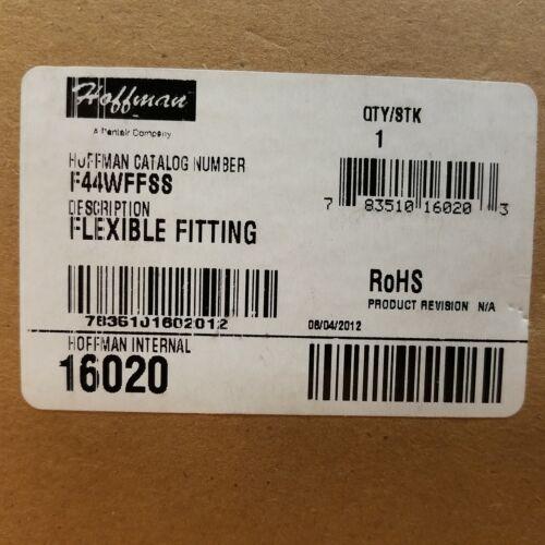 Hoffman F44WFFSS Flexible Fitting NEW