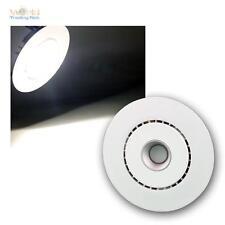 weiße LED Einbauleuchte 700mA CC, neutralweiß 400lm Einbaustrahler Möbelleuchte