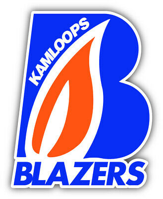 5/'/' 6/'/' or 8/'/' Oklahoma City Blazers Hockey Logo Car Bumper Sticker Decal 3/'/'