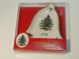 Spode Joy Bell Shaped Christmas Tree Ornament New In Box 783931378331 Ebay