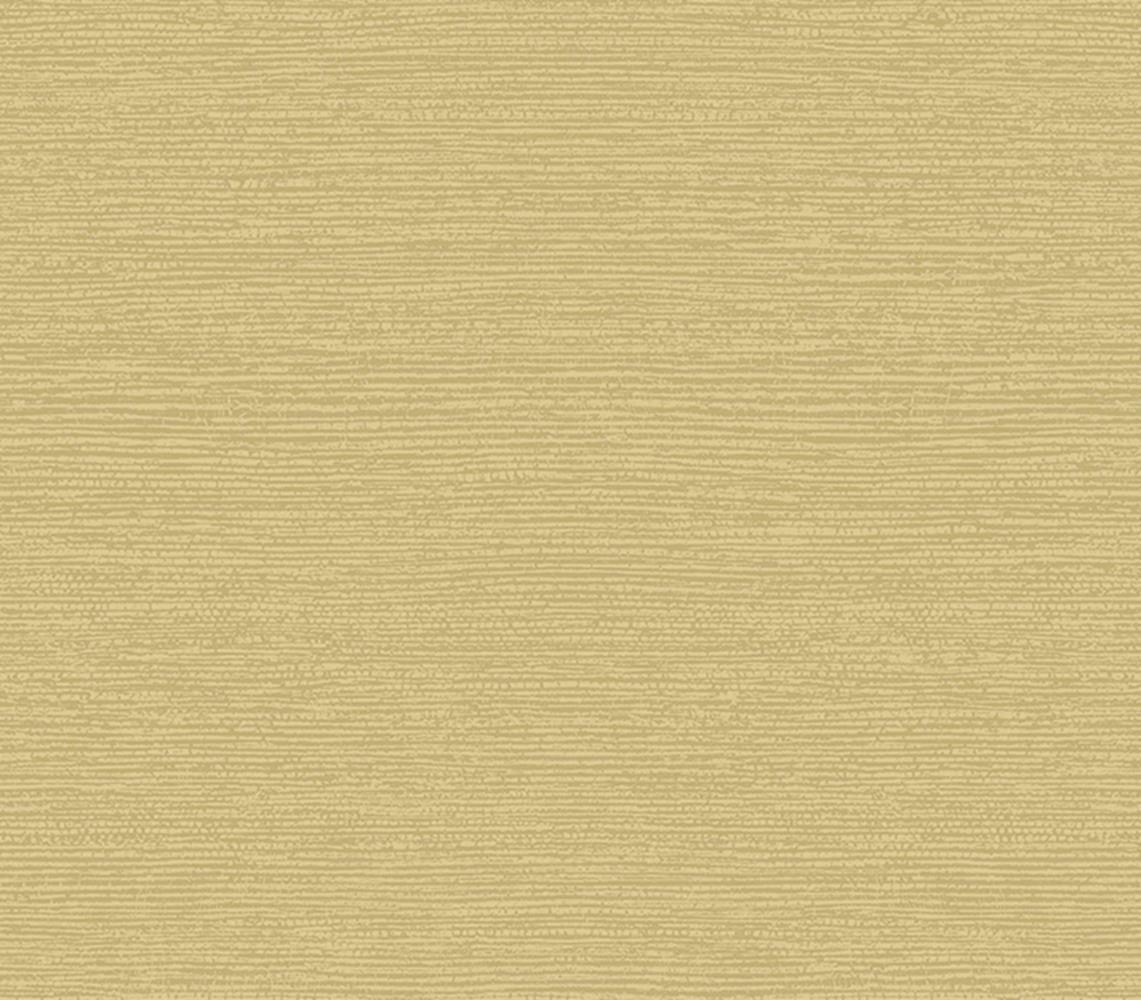 1804-122-06 - Aurora Gras Tuch Textur Senffarben 1838 Tapete