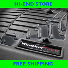 WeatherTech FloorLiner Mats, BLACK 2012-2017, Lexus LX 570,Toyota Land Cruiser