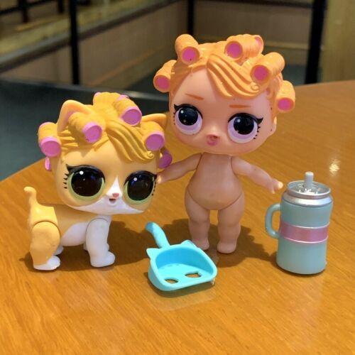 Lol Surprise Dolls /& PET Babydoll /& KITTYDOLL Series 3 Confetti pop toys MYBJ